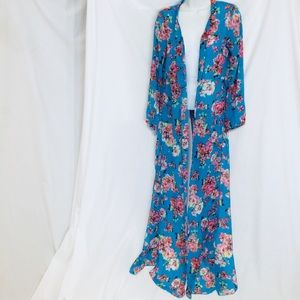 Floral Coverup/Robe